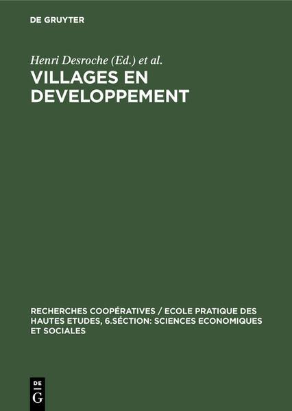 Villages en developpement - Coverbild