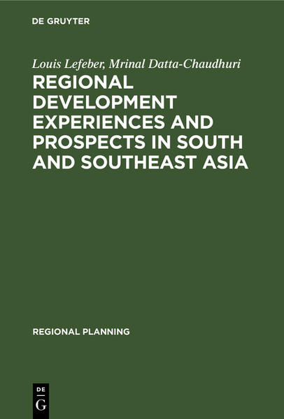 Regional development experiences and prospects in South and Southeast Asia - Coverbild