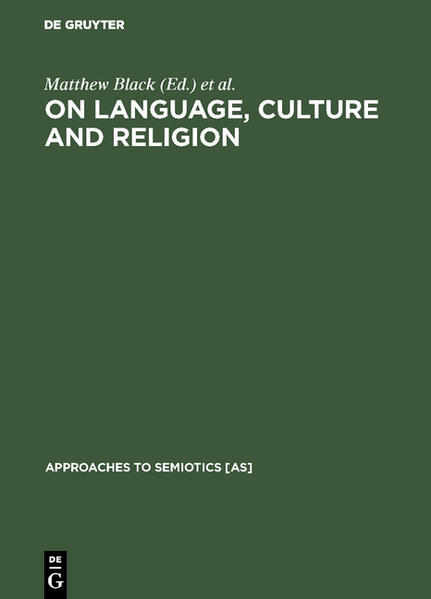 On language, culture and religion - Coverbild