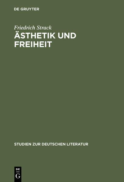 Ästhetik und Freiheit - Coverbild