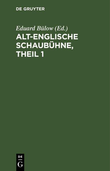 Alt-Englische Schaubühne - Coverbild