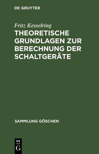 Theoretische Grundlagen zur Berechnung der Schaltgeräte - Coverbild