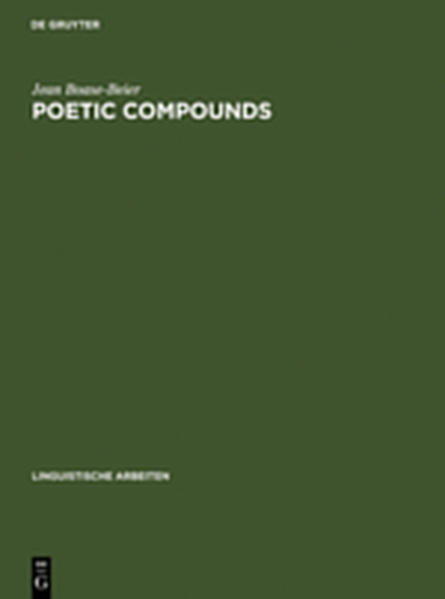 Poetic Compounds - Coverbild