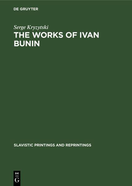 The works of Ivan Bunin - Coverbild