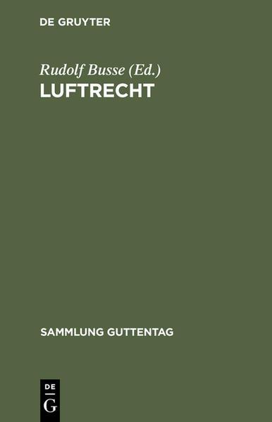 Luftrecht - Coverbild