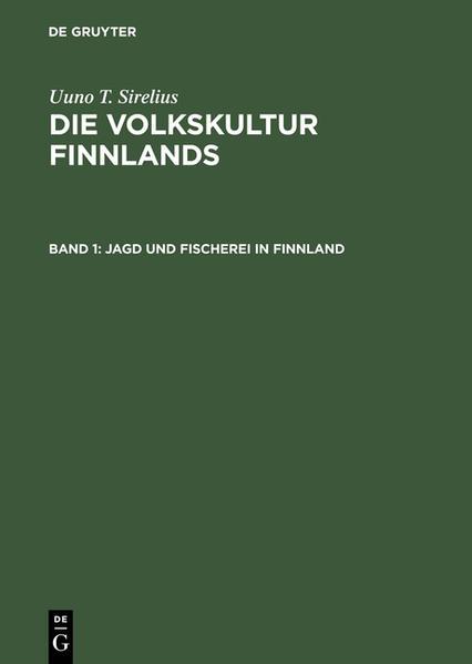 Jagd und Fischerei in Finnland - Coverbild