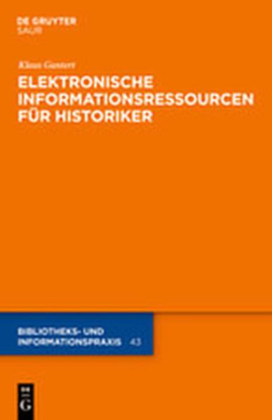 Elektronische Informationsressourcen für Historiker - Coverbild
