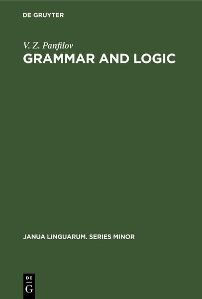 Grammar and logic - Coverbild