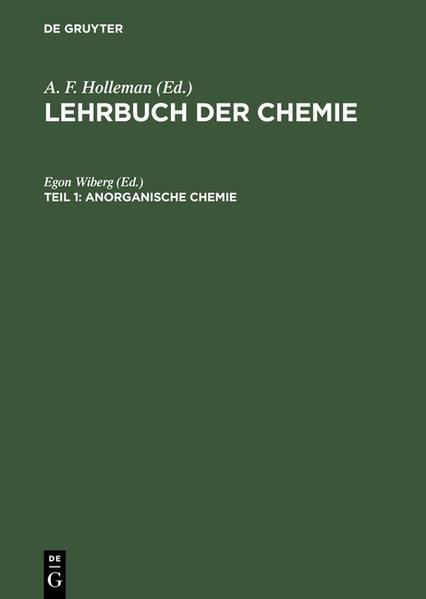 Lehrbuch der Chemie / Anorganische Chemie - Coverbild
