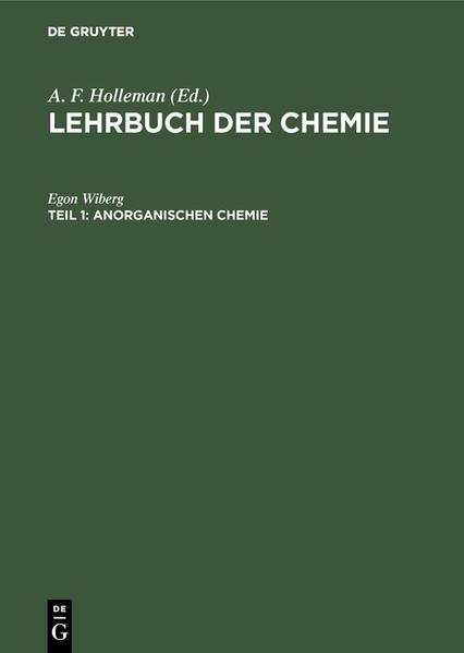 Lehrbuch der anorganischen Chemie - Coverbild