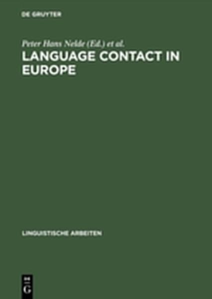 Language contact in Europe - Coverbild