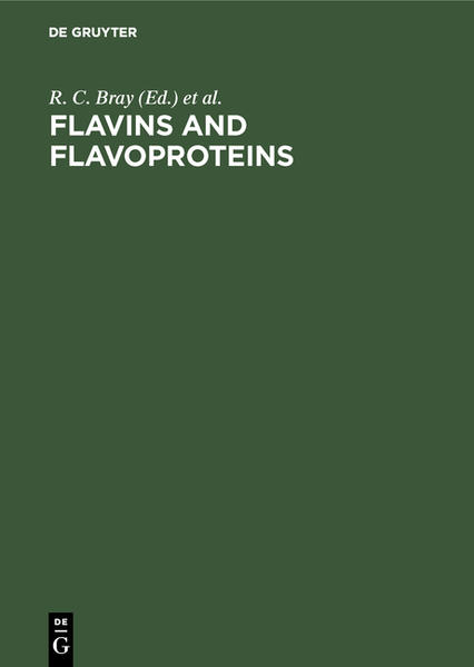 Flavins and flavoproteins - Coverbild