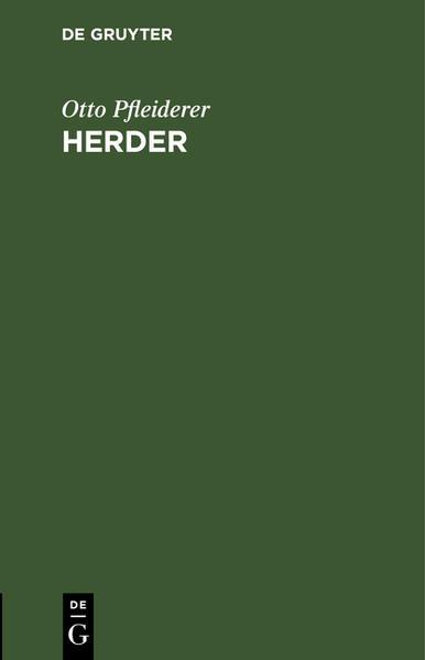 Herder - Coverbild