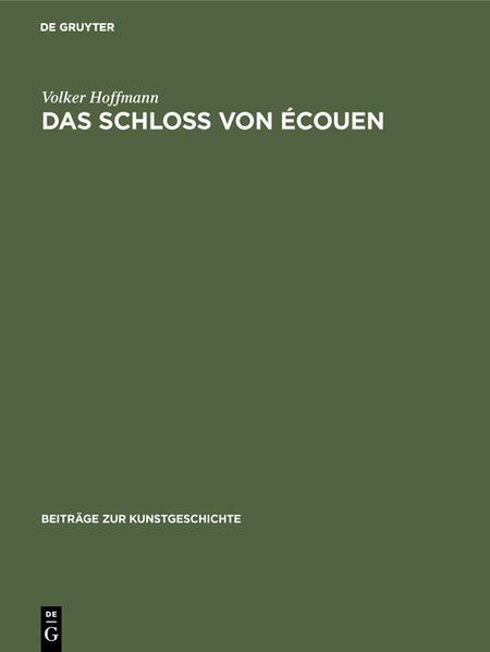 Das Schloss von Écouen - Coverbild