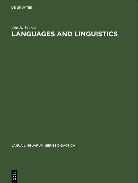 Languages and linguistics - Coverbild