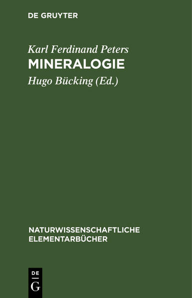 Mineralogie - Coverbild
