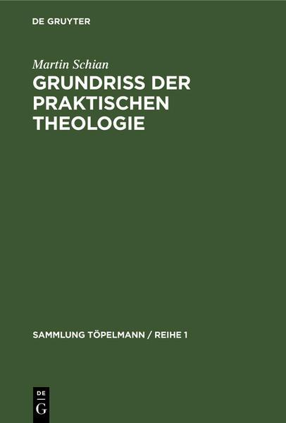 Grundriß der praktischen Theologie - Coverbild