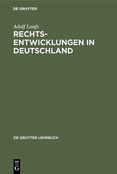 Rechtsentwicklungen in Deutschland - Coverbild