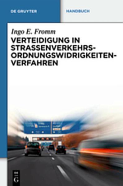 Verteidigung in Straßenverkehrs-Ordnungswidrigkeitenverfahren - Coverbild