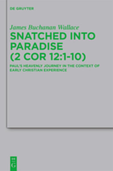 Snatched into Paradise (2 Cor 12:1-10) - Coverbild