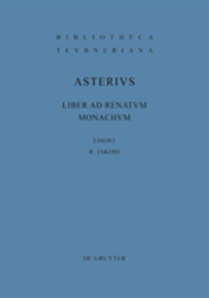 Liber ad Renatum monachum - Coverbild