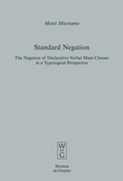 Standard Negation - Coverbild