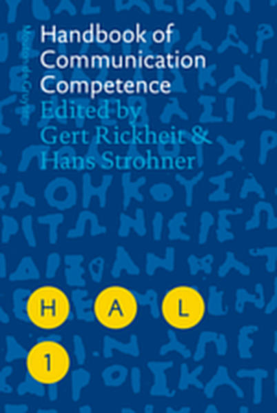 Handbook of Communication Competence - Coverbild