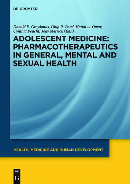 Adolescent Medicine / Pharmacotherapeutics in General, Mental and Sexual Health - Coverbild