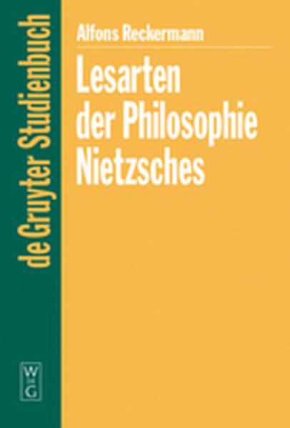 Lesarten der Philosophie Nietzsches - Coverbild