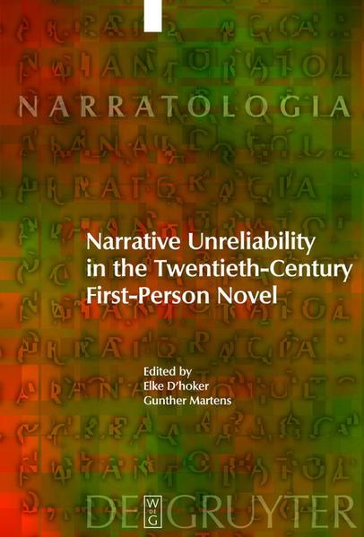 Narrative Unreliability in the Twentieth-Century First-Person Novel - Coverbild