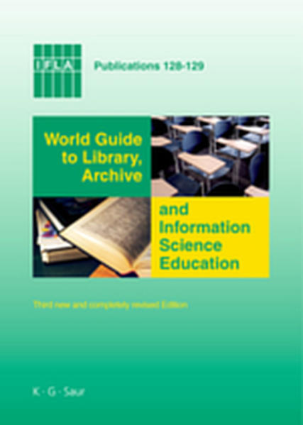 World Guide to Library, Archive and Information Science Education - Coverbild