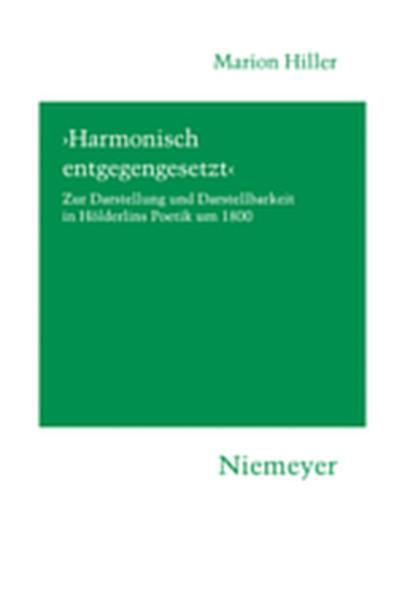 'Harmonisch entgegengesetzt' - Coverbild
