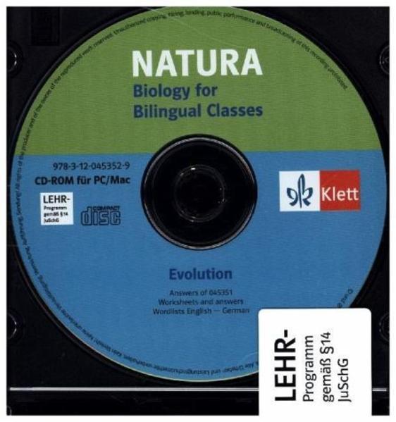 Natura - Biology for bilingual classes / Evolution Begleit-CD - Coverbild
