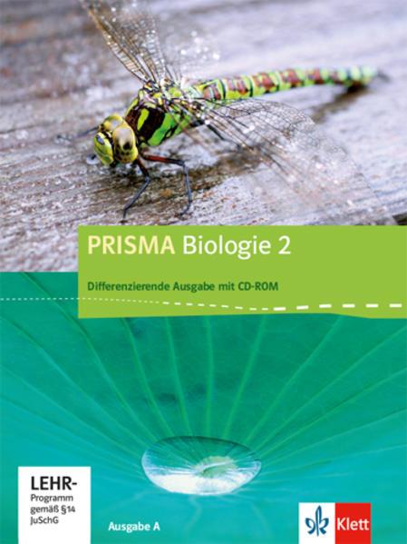 Prisma Biologie - Ausgabe A / Schülerbuch Differenzierende Ausgabe mit CD-ROM - Coverbild