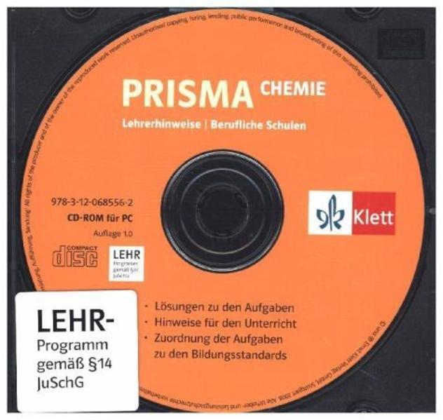 Prisma Chemie für berufliche Schulen / Lehrerhinweise auf CD-ROM - Coverbild