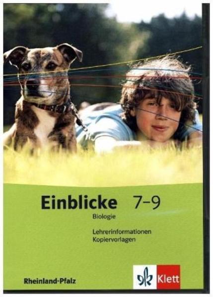 Einblicke Biologie - Ausgabe für Rheinland-Pfalz / Lehrerband-CD-ROM mit Kopiervorlagen 7.-9. Schuljahr - Coverbild