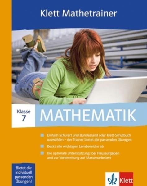 Klett Mathetrainer. Lehrwerksbegleitende Schülersoftware passend... / 7. Schuljahr - Coverbild