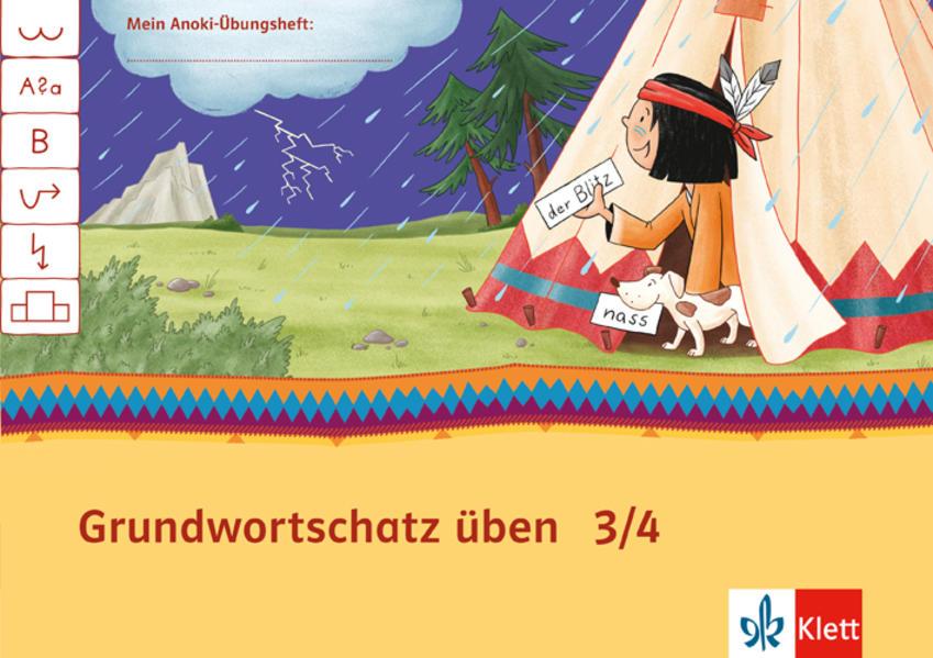 Mein Indianerheft / Grundwortschatz üben 3/4 - Coverbild