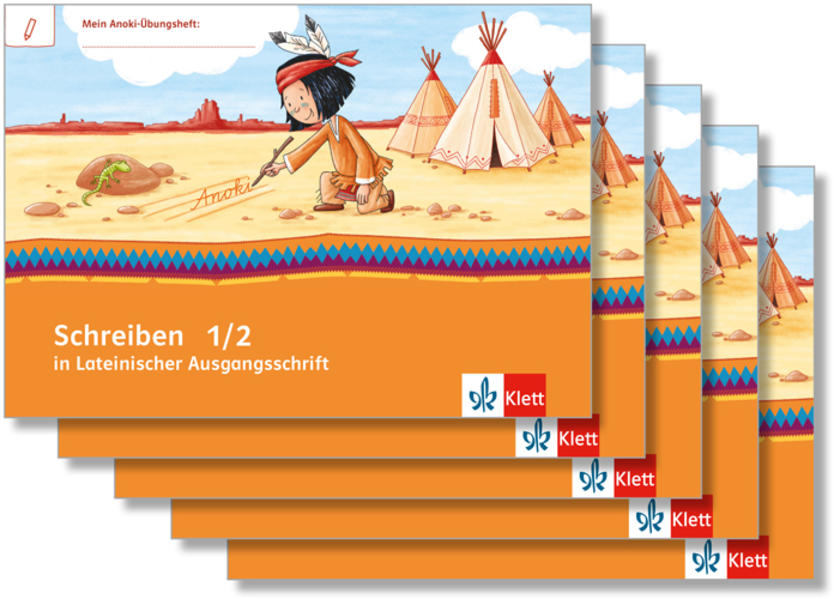 Mein Indianerheft / Schreiben in Lateinischer Ausgangsschrift - Coverbild