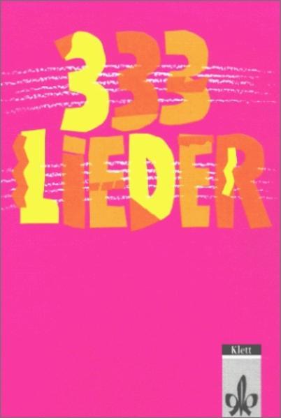 333 Lieder. Unser Liederbuch 2 zum Singen, Spielen und Tanzen - Coverbild