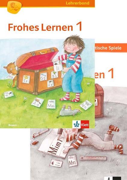 Frohes Lernen Fibel / Lehrerband und Kopiervorlagen 1. Schuljahr - Coverbild