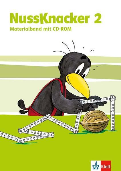 Der Nussknacker - Neue Ausgabe für Hessen, Rheinland-Pfalz, Baden-Württemberg, Saarland / Materialband mit CD-ROM (Kopiervorlagen, Lernzielkontrollen) 2. Schuljahr - Coverbild