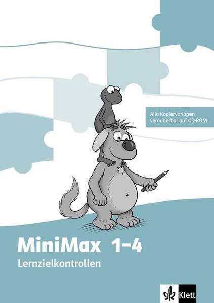 MiniMax / Lernzielkontrollen Klasse 1 - 4 mit editierbaren Vorlagen auf CD-ROM - Coverbild