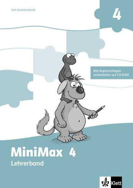 MiniMax / Lehrerhandbuch mit CD-ROM. 4. Schuljahr zum Ausleihmaterial - Coverbild