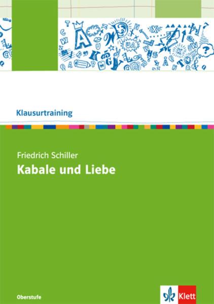 Friedrich Schiller: Kabale und Liebe - Coverbild