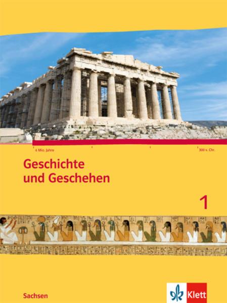 Geschichte und Geschehen. Ausgabe für Sachsen / Schülerbuch 5. Schuljahr - Coverbild