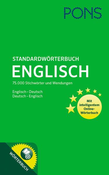 Kostenloses Epub-Buch PONS Standardwörterbuch Englisch