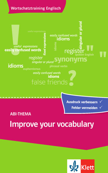 Improve your vocabulary - Coverbild