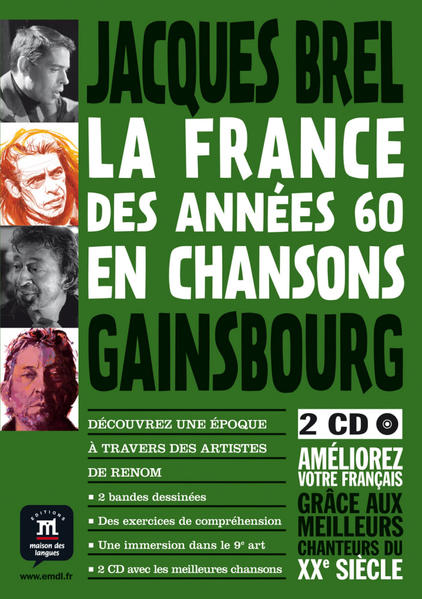Jacques Brel, Serge Gainsbourg - Coverbild