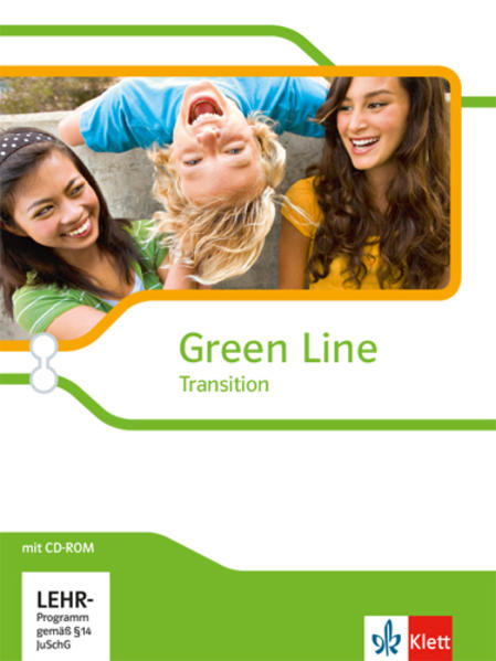 Green Line Transition / Schülerbuch mit CD-ROM - Coverbild